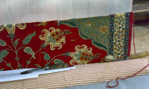 Custom made Aynard Lahori Floral and Niche oriental carpet rug