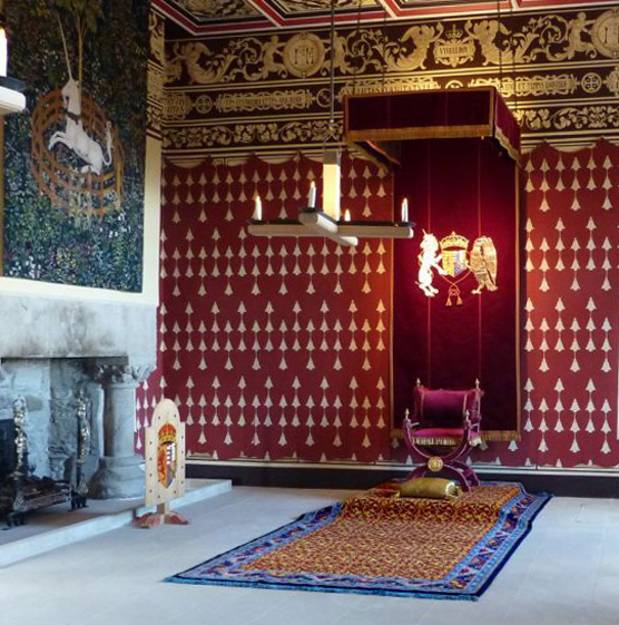 Lotto Carpet in Stirling Castle Palace